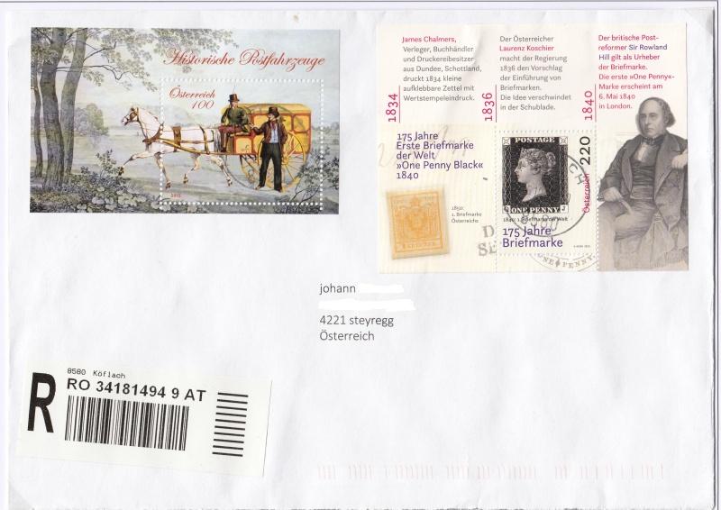 Sammlung Bedarfsbriefe Österreich ab 1945 - Seite 7 Img10