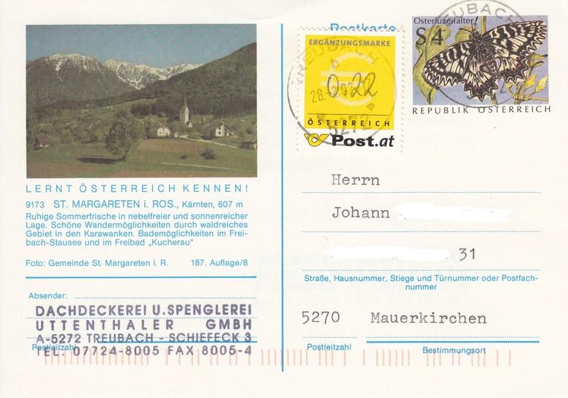 Österreich - Ergänzungsmarke  - Seite 2 Img23