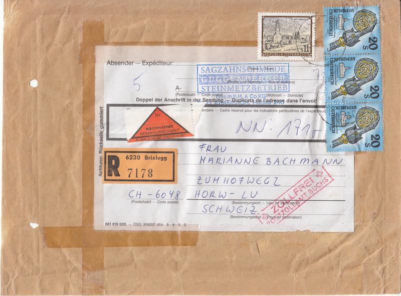 """Freimarkenserie """"Kunstwerke aus Stiften und Klöstern"""" Img_0026"""