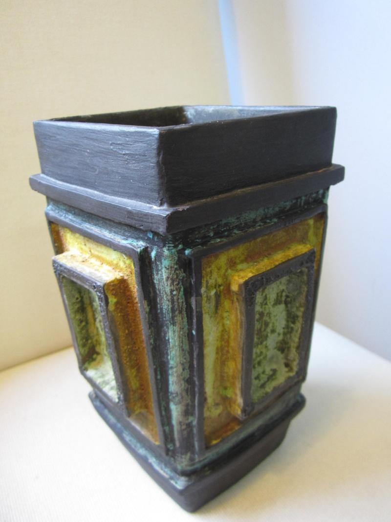 Mid Century slab style vase. Looks and feels Italian? Img_2910