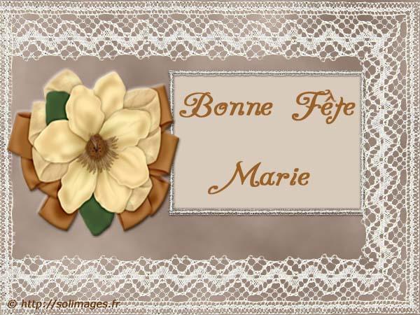 fête  à  souhaiter   - Page 4 Marie_10
