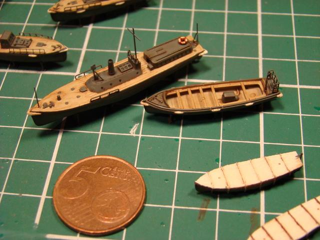 croiseur lourd Mogami au 1/350 par Pascal 94 - Tamiya  - Page 7 Embarc10