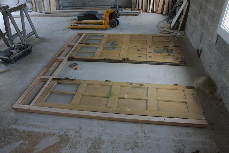 Restauration d'une porte de garage. 01_jui11