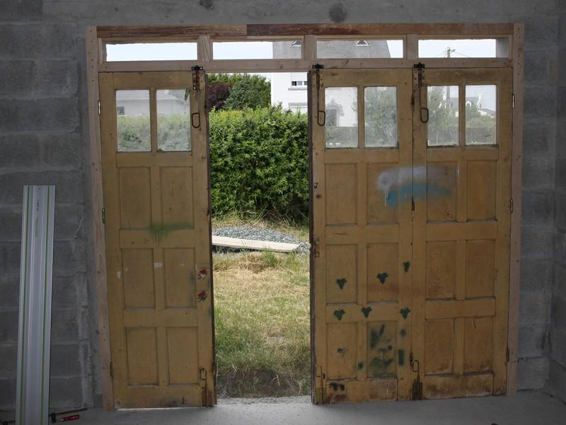 Restauration d'une porte de garage. 01_jui12