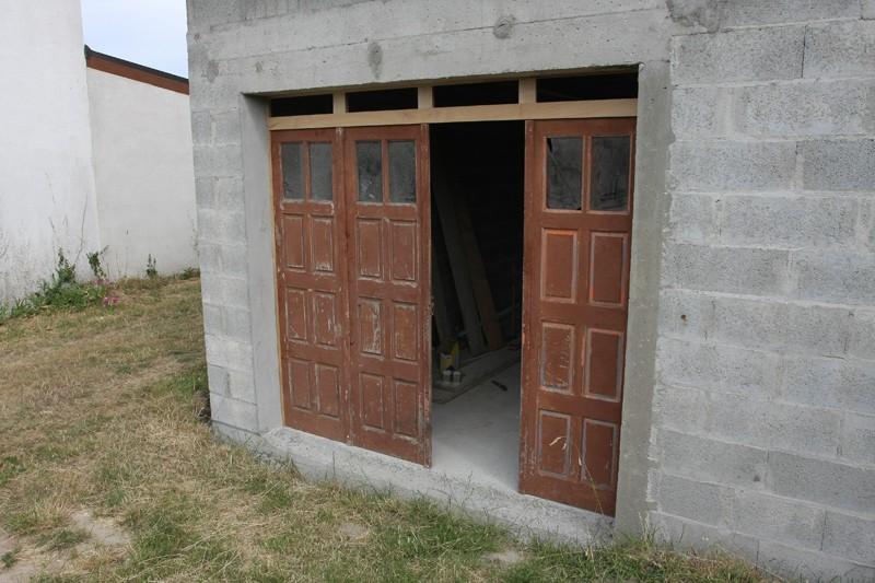 Restauration d'une porte de garage. 01_jui13