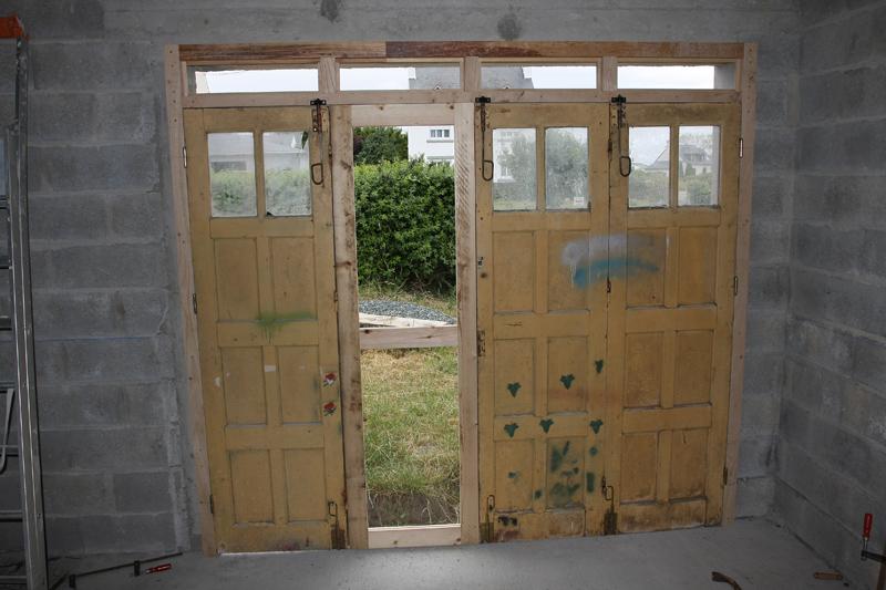 Restauration d'une porte de garage. 02_jui11