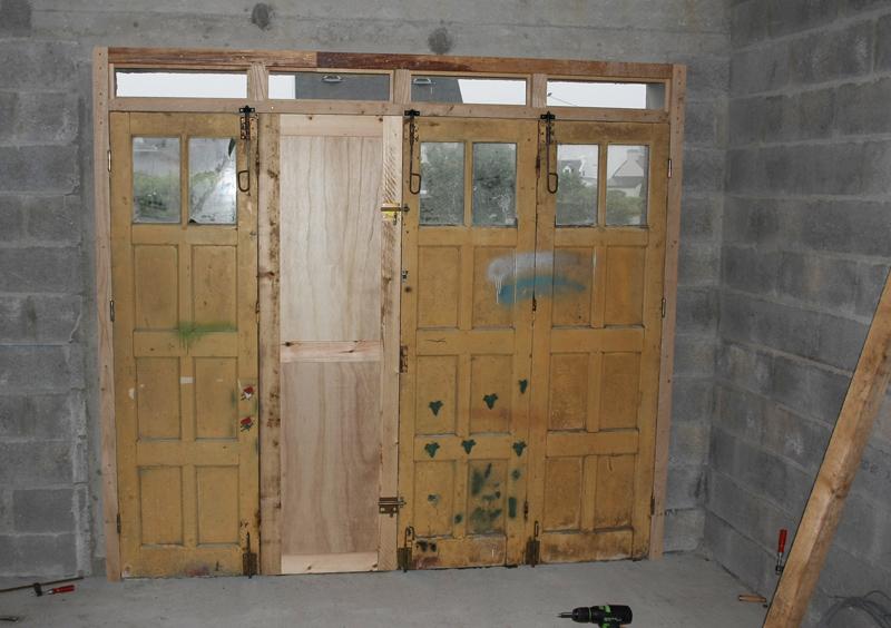 Restauration d'une porte de garage. 02_jui12