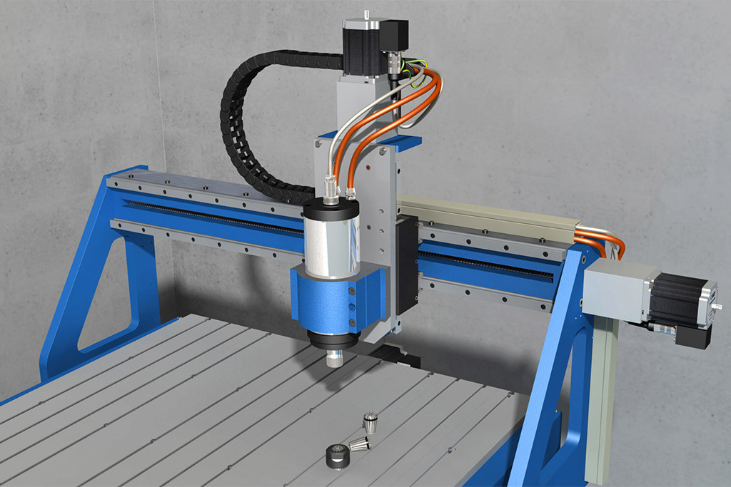 Choix et installation d'une broche CNC 2.2kW water-cooled - Page 4 Assemb23