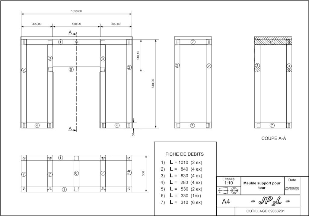 Un meuble support pour mon tour - Page 2 Plan_m10