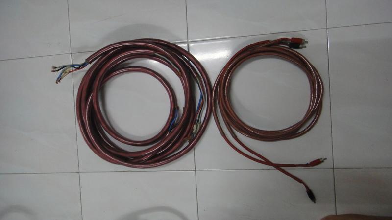 Ensemble speaker & interconnect cable  Dsc05734