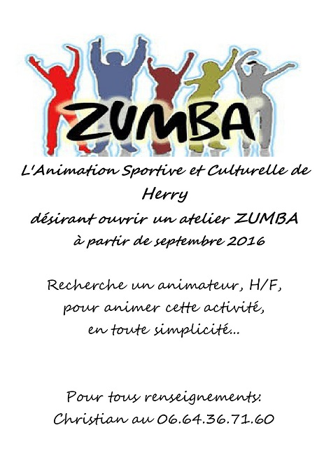 SEPTEMBRE 2016 - HERRY - Ouverture d'une section zumba 09_1_10