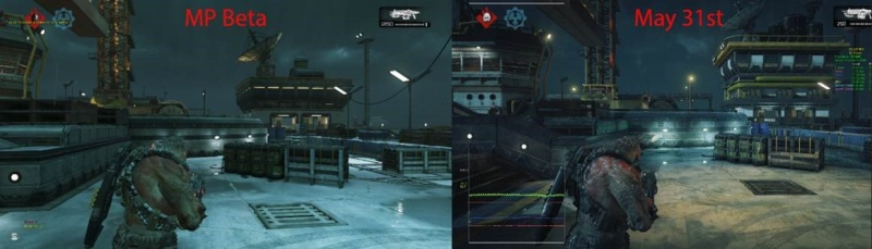 Remember when people were shitting on the graphics in Gears 4 Beta? Haha Gearsc10