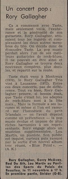Photos de Martine G. - Lausanne, 11 novembre 1973 Image_14