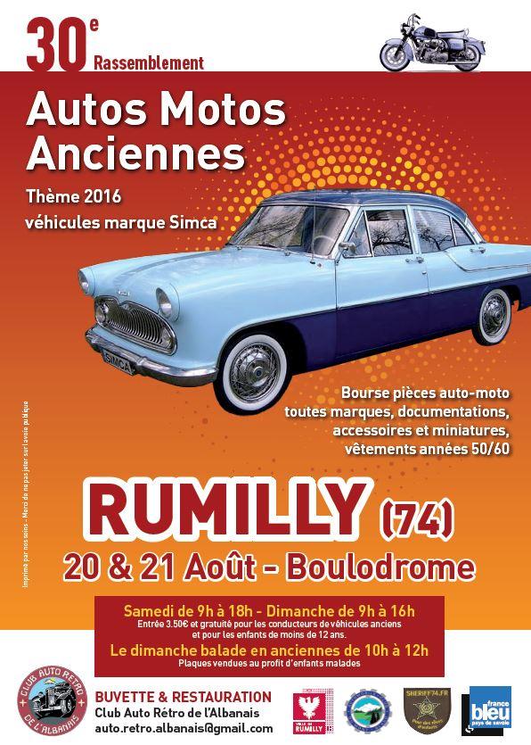 30ème rassemblement de véhicules anciens de Rumilly (74) Rumill11