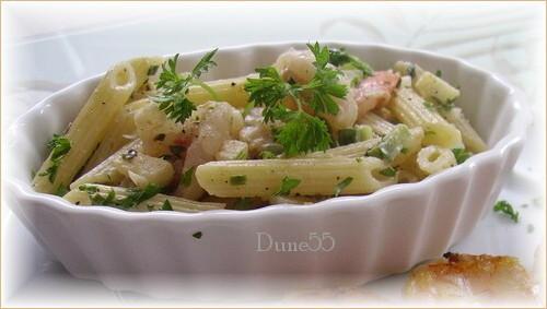 Salade de pâtes aux crevettes Petite10