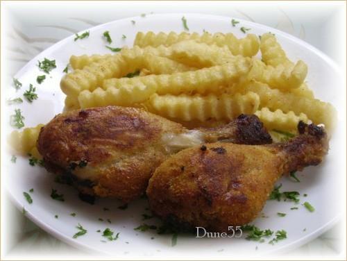 Cuisses de poulet panées Pict8214