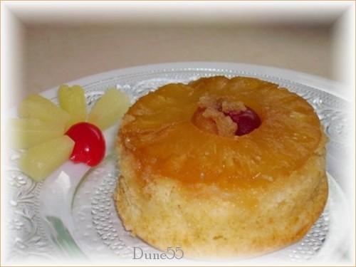 Gâteau renversé à l'ananas  Yessss12