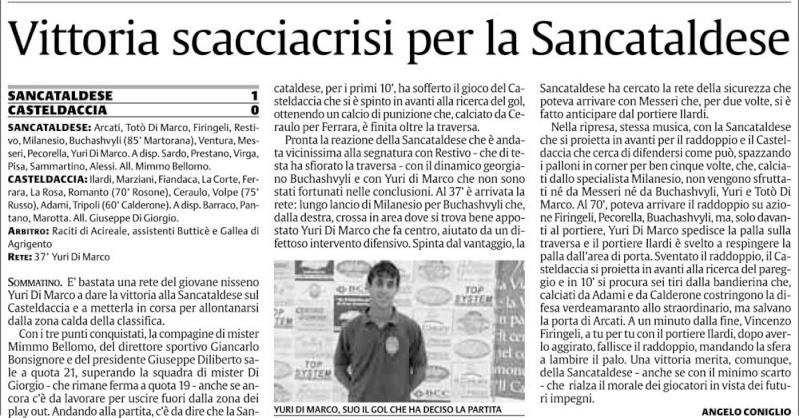 Campionato 19° giornata: Sancataldese - Casteldaccia 1-0 119
