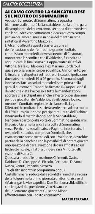Campionato 17° giornata: Sancataldese - Alcamo 2-1 Alcamo11