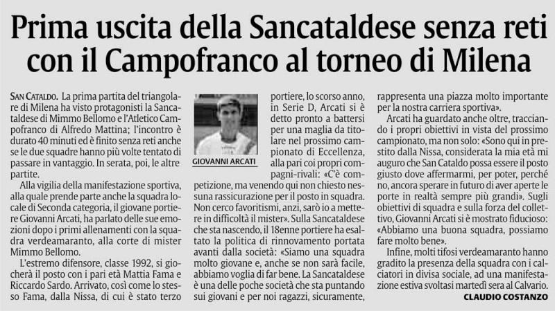 Triangolare Sancataldese - Nissa - Montedoro Cn2216