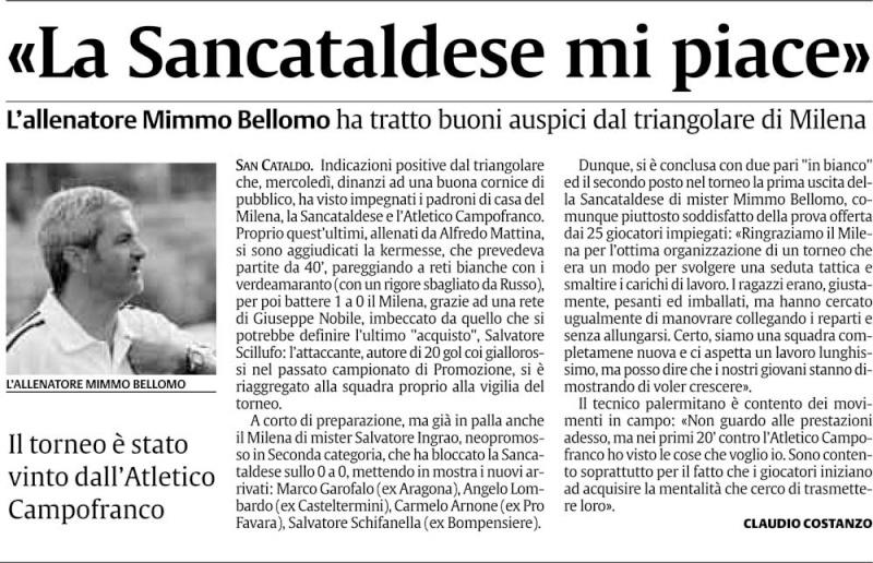 Triangolare Sancataldese - Nissa - Montedoro Cn2217