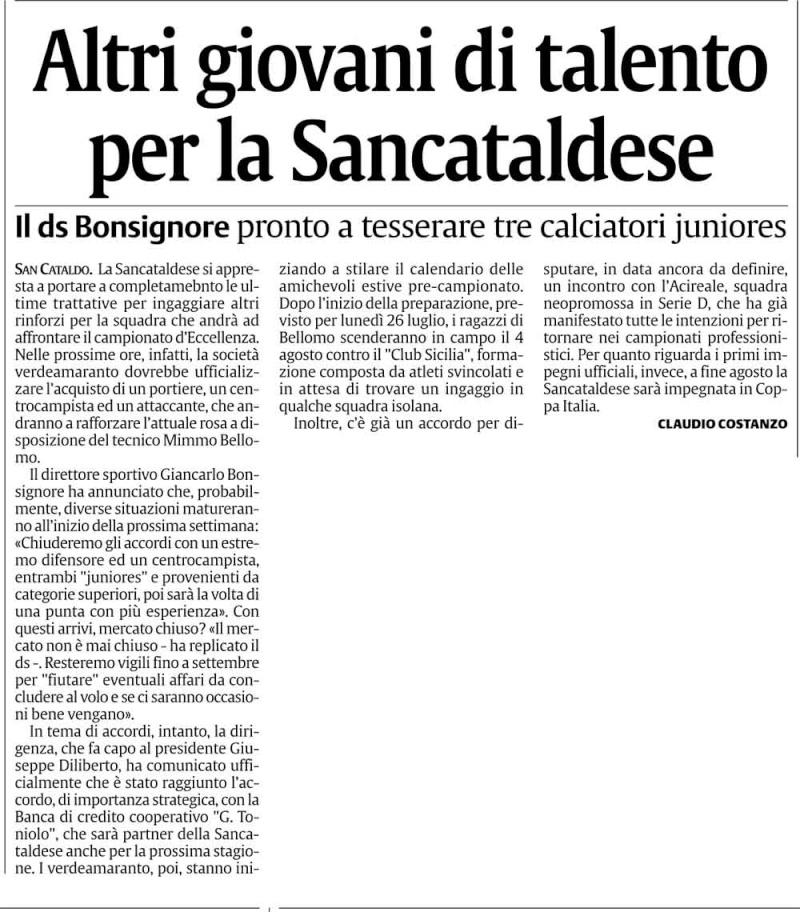 Calciomercato Sancataldese Cnsc20