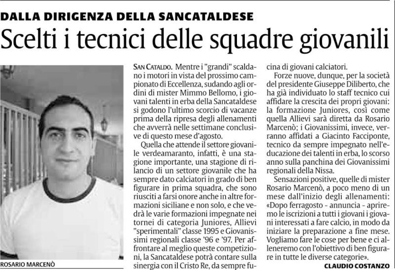 Triangolare Sancataldese - Nissa - Montedoro Cnsc312