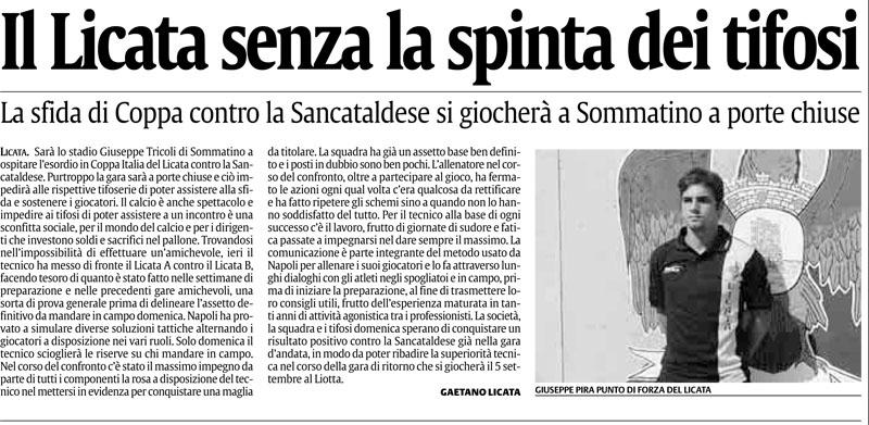 1° turno Coppa Italia andata: Sancataldese - Licata 2-1 Cnscag10