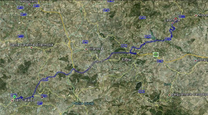 1° turno C. I. ritorno: Leonfortese - Sancataldese 2-1 Satell10
