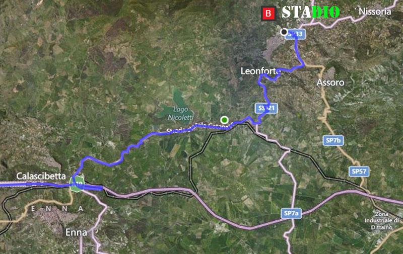 1° turno C. I. ritorno: Leonfortese - Sancataldese 2-1 Satell11