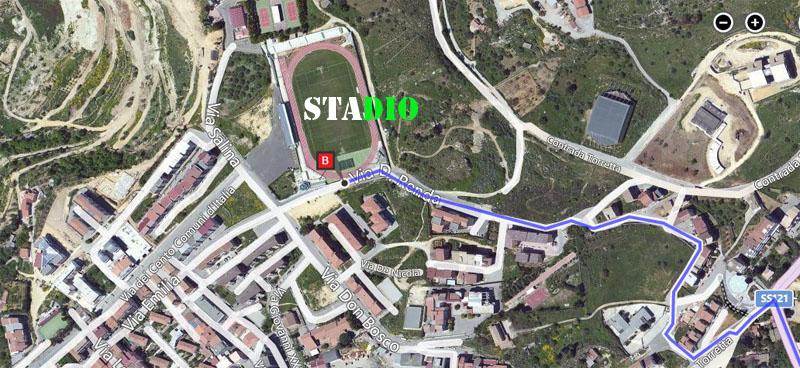 1° turno C. I. ritorno: Leonfortese - Sancataldese 2-1 Satell13