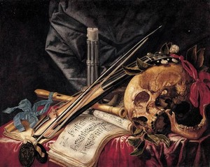 Les VANITES ( Memento mori ) A12-st10