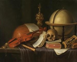 Les VANITES ( Memento mori ) A17-ev10