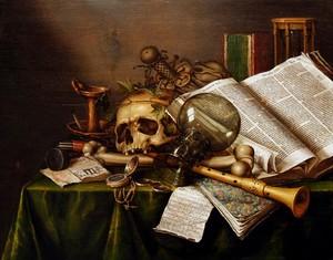 Les VANITES ( Memento mori ) A20-ed10