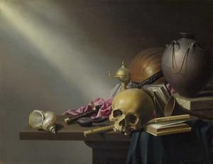 Les VANITES ( Memento mori ) A33-la10