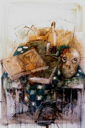 Les VANITES ( Memento mori ) A36-bm10