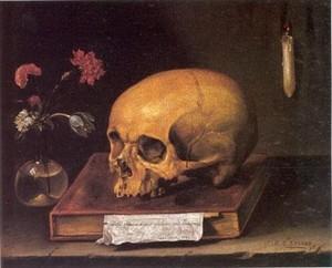 Les VANITES ( Memento mori ) A5-lin10