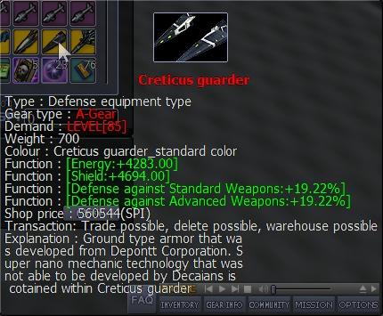 Quelque armes boss  .... Cretic10