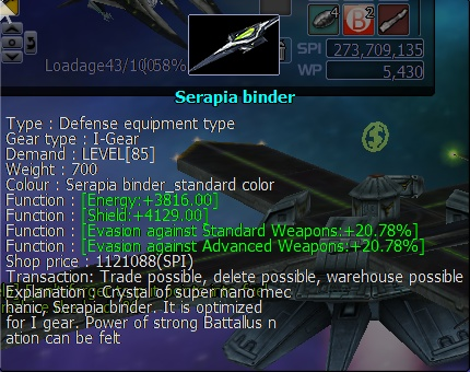 Quelque armes boss  .... Serapi11