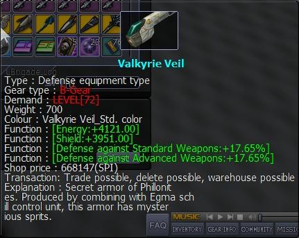 Quelque armes boss  .... Valkyr10