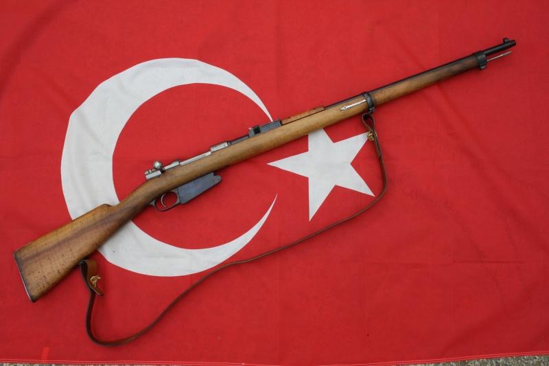 Fusil Mauser modèle 1890 Turc 00111
