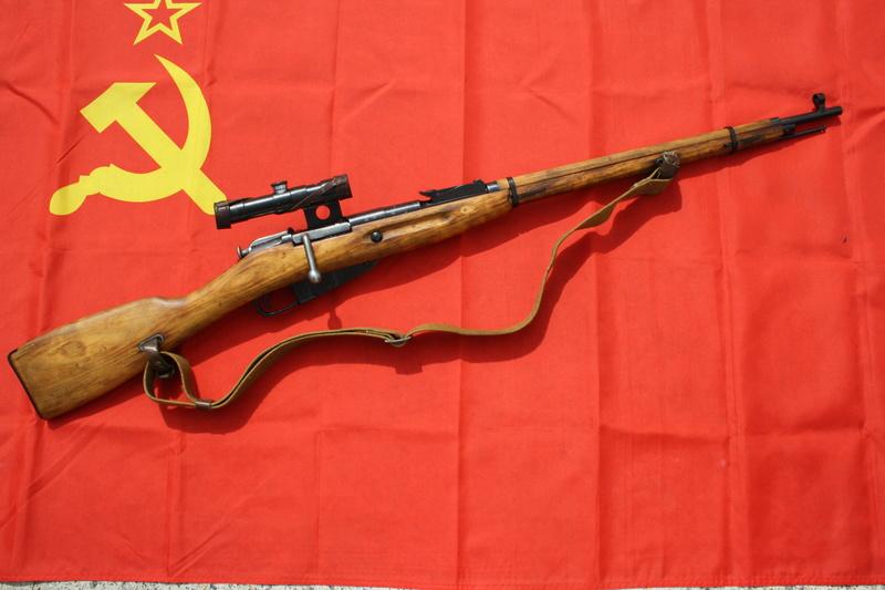 Quelques Mosin Soviétiques . 00412