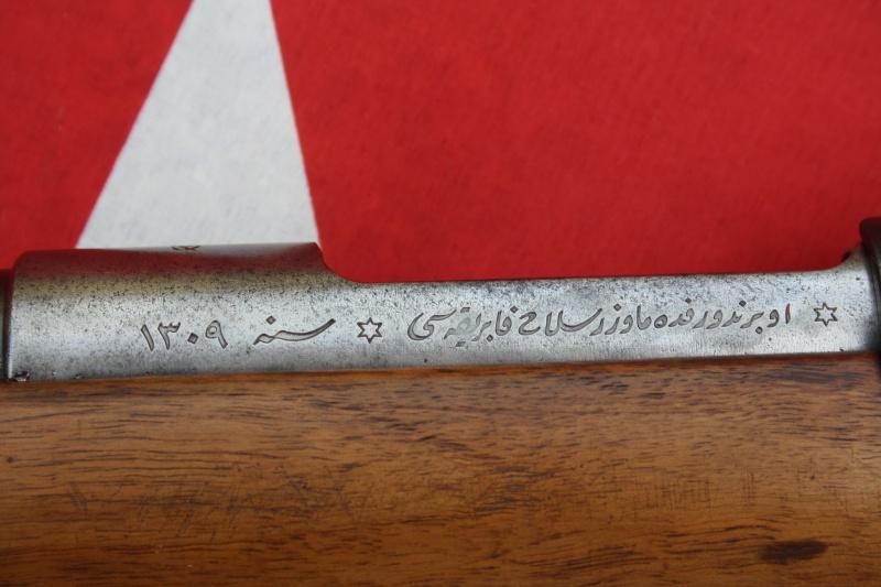 Fusil Mauser modèle 1890 Turc 01711