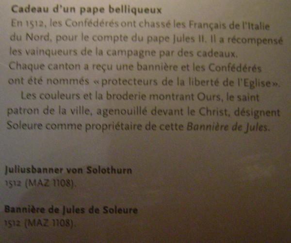 Altes Zeughaus Solothurn. Dsc01169