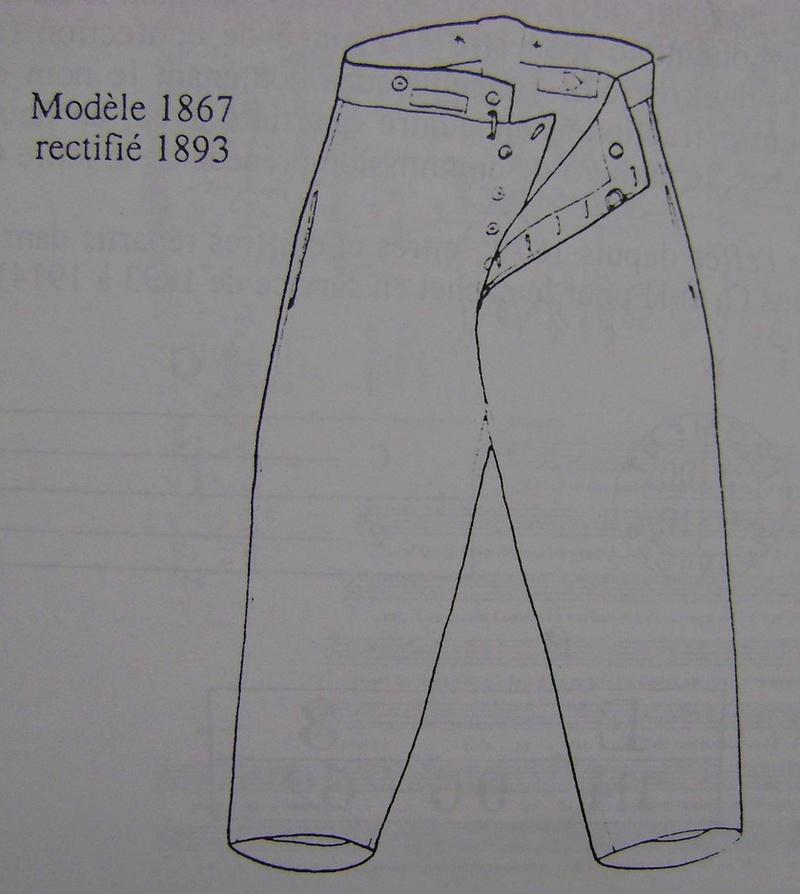"""Une question ... Différences pantalon """"1900"""" et 1931 Dsc01223"""
