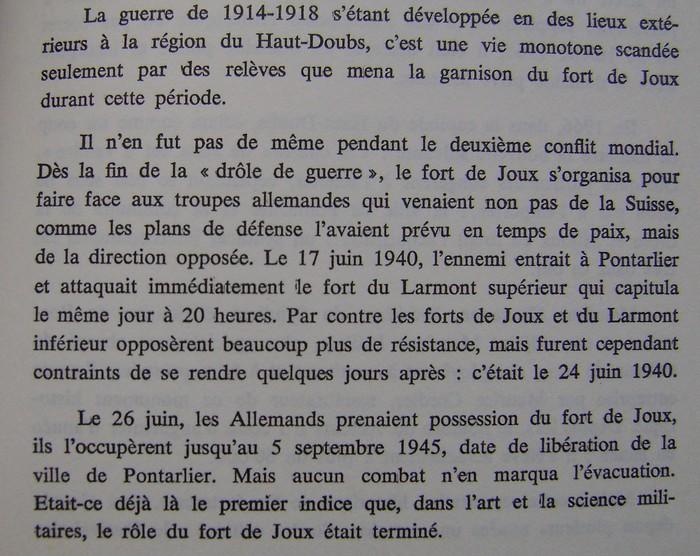 forts de Joux et de Larmont en 1939-1945 Dsc01250
