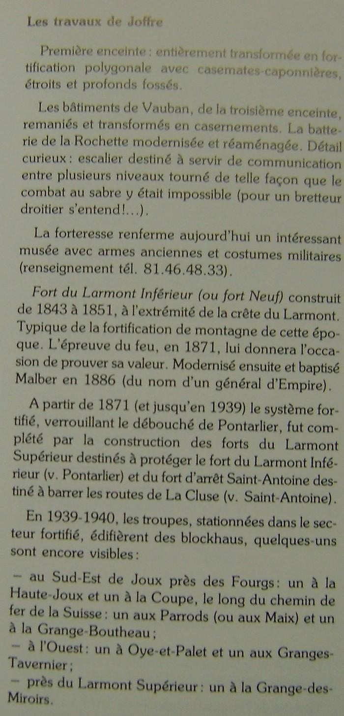 forts de Joux et de Larmont en 1939-1945 Dsc01252