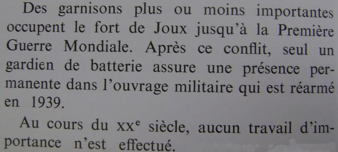 forts de Joux et de Larmont en 1939-1945 Dsc01253