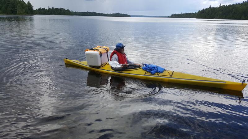 Allagash Wilderness Waterway Canoe Trip 20160810