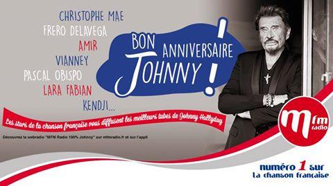 Anniversaire de Johnny sur MFM radio 13418610